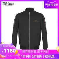 Jacket Olama Fashion City black 46 48 50 52 54 56 58 standard Other leisure spring Polyamide fiber (nylon) 93.4% polyurethane elastic fiber (spandex) 6.6% Long sleeves Wear out stand collar tide routine Zipper placket Winter 2020 Same model in shopping mall (sold online and offline) nylon