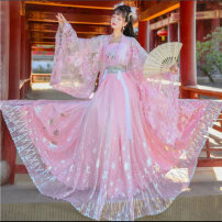 National costume / stage costume Winter 2020 Pink chest 3M, pink chest 6m, pink waist 3M sleeves +, pink waist 6m sleeves +, blue chest 3M, blue chest 6m, blue waist 3M sleeves +, blue waist 6m sleeves+ S,M,L,XL Other / other 18-25 years old polyester fiber 96% and above
