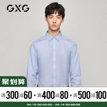shirt Youth fashion GXG 165/S 170/M 175/L 180/XL 185/XXL 190/XXXL blue routine Pointed collar (regular) Long sleeves standard Other leisure winter GA103511G youth Cotton 100% Solid color Color woven fabric Winter of 2018 cotton Same model in shopping mall (sold online and offline) More than 95%