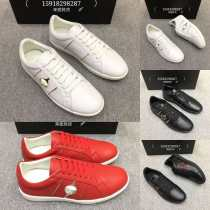 Low top shoes White + Decor black + Red White Red Black 38 39 40 41 42 43 44 Other / other Cattle hide (except cattle suede) Frenulum Round head Sports and leisure shoes top layer leather Youth (18-40 years old)