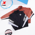 Sports jacket / jacket XTEP / Tebu male 2XL 3XL s (adult) m (adult) l (adult) XL (adult) XH89775826 The official flagship store of black brown light gray blue light kakitebu Spring 2021 stand collar zipper Brand logo Sports & Leisure Windbreak Sports life