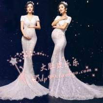 Studio clothing Rent lace crown, rent 3 meters lace veil, sell skirt + bra underwear, rent single skirt, rent skirt give bra underwear, second-hand sell single skirt Big belly lele Other sizes Other / other