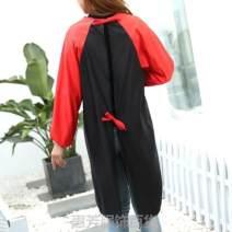 apron Sleeve apron waterproof Korean version Household cleaning Average size PVZ6234 public no Solid color