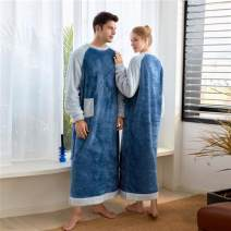 Nightgown / bathrobe Other / other lovers 2XL size 170-190 Jin 175cm to ankle, XL SIZE 140-160 Jin 170cm to ankle, 3XL size 200-240 Jin 180cm to ankle, M size 80-105 Jin 160cm to ankle, L size 110-130 Jin 165cm to ankle Blue men's, navy men's, rose women's, blue women's, ginger women's, ginger men's