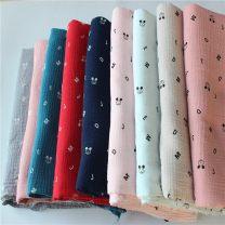 Fabric / fabric / handmade DIY fabric cotton Loose shear piece Cartoon animation printing and dyeing clothing Japan and South Korea 100%