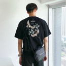 T-shirt Youth fashion black routine M. L, XL, 2XL, warm tips: loose and comfortable version Mrcyc Short sleeve Crew neck easy Other leisure summer teenagers routine tide other 2019 Animal design other cotton Animal design No iron treatment Fashion brand More than 95%