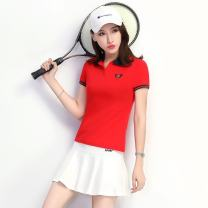 Sports skirt Red / white, white / red, red / black, yellow / blue, black red Other / other one hundred and fifty female M (adult), l (adult), XL (adult), XXL (adult), XXXL (adult) Summer 2020 Tennis Tennis cotton