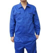 Work uniform blue Other / other M,L,XL,2XL,3XL,4XL(190) worker suit autumn go to work Factory workshop cotton youth