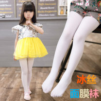 Children's socks (0-16 years old) Pantyhose Tights skin color, Tights Black, tights white S 3-5 years old, m 5-8 years old, l 8-12 years old, XL Other / other summer female Class B Tights S lovely