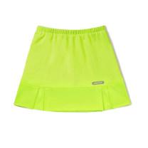 Badminton wear Fluorescent yellow pleated skirt female S,M,L,XL Han Xuanwei