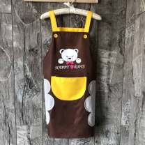 apron Sleeveless apron waterproof Japanese  PVC Household cleaning Average size CBH1976 Other public yes Cartoon