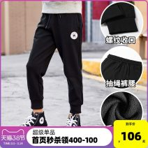 trousers Converse / converse male 110/4 110/5 120/6 130/7 140/S 150/M 160/L 160/XL summer trousers leisure time There are models in the real shooting Sports pants Tether middle-waisted cotton Don't open the crotch Cotton 65% polyester 35% 73111KP959 Spring 2020 Chinese Mainland Fujian Province