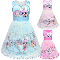 Dress 8939 blue, 8939 rose, 8939 Pink female Other / other 100cm,110cm,120cm,130cm,140cm Other 100% summer princess Skirt / vest Cartoon animation 12, 2, 3, 4, 5, 6, 7, 8, 9, 11, 10 Chinese Mainland Guangdong Province