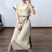 Dress Summer 2021 Black, champagne M,L,XL,2XL singleton  H04HQ21760 71% (inclusive) - 80% (inclusive)