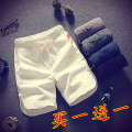 Casual pants Others Youth fashion White, gray, black, dark green, blue, white + white, white + gray, white + blue, white + dark green, black + gray, white + black, black + blue, black + dark green, gray + gray, gray + blue, gray + dark green, dark green + blue, random T-shirt, black + Black routine