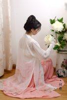 Custom made Hanfu Printed pylon M. S, l, XL, others female A long dream