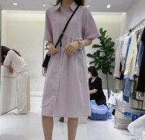 Dress Spring 2021 White, black, apricot, blue, purple Average size