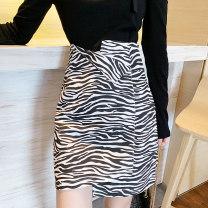 skirt Summer 2020 S M L Leopard and zebra Short skirt commute High waist Irregular Zebra pattern Type A 18-24 years old SH-1833-1 91% (inclusive) - 95% (inclusive) Looking for Jie cotton Asymmetry Korean version Cotton 95% polyurethane elastic fiber (spandex) 5% Pure e-commerce (online only)