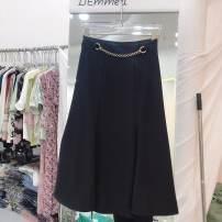 T-shirt Black, apricot, s skirt length 76, waist 64 M68 L72 xl76 S,M,L,XL other 31% (inclusive) - 50% (inclusive)
