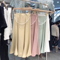 T-shirt Black does not change, white does not change, pink does not change, yellow does not change, green does not change, s skirt length 72, waist 64 M68 L72 S,M,L other 31% (inclusive) - 50% (inclusive)