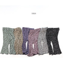 trousers Other / other female summer trousers Casual pants Official pictures 732 12 months, 18 months, 2 years old, 3 years old, 4 years old, 5 years old, 6 years old, 7 years old, 8 years old, 9 years old, 10 years old, 11 years old, 12 years old Black, purple, light gray, green, dark pink, beige