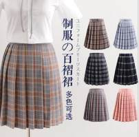 skirt Spring of 2019 S,M,L,XL,2XL,3XL,4XL,5XL Short skirt Versatile High waist Pleated skirt lattice Type A 18-24 years old 51% (inclusive) - 70% (inclusive) other Other / other polyester fiber 401g / m ^ 2 (inclusive) - 500g / m ^ 2 (inclusive)
