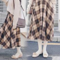 Cosplay women's wear jacket goods in stock Over 14 years old Khaki lattice comic S,XL,L,M