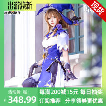 Cosplay women's wear suit goods in stock Over 14 years old A small amount of full stock [including hat and socks] game S,M,L,XL Heshun animation Chinese Mainland Lovely wind Original God Original God Lisa cos