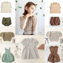 Dress Light pink lace sleeve top (in stock), general anesthesia military green adjustable shorts (in stock), coffee color general anesthesia adjustable shorts (in stock), temperament Printed Dress (in stock), general anesthesia coffee color Jumpsuit (in stock), light green suspenders (in stock) lady