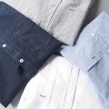 shirt Fashion City Others M,L,XL,2XL,3XL,4XL,5XL White, gray, blue, navy routine Button collar Long sleeves Self cultivation Other leisure spring