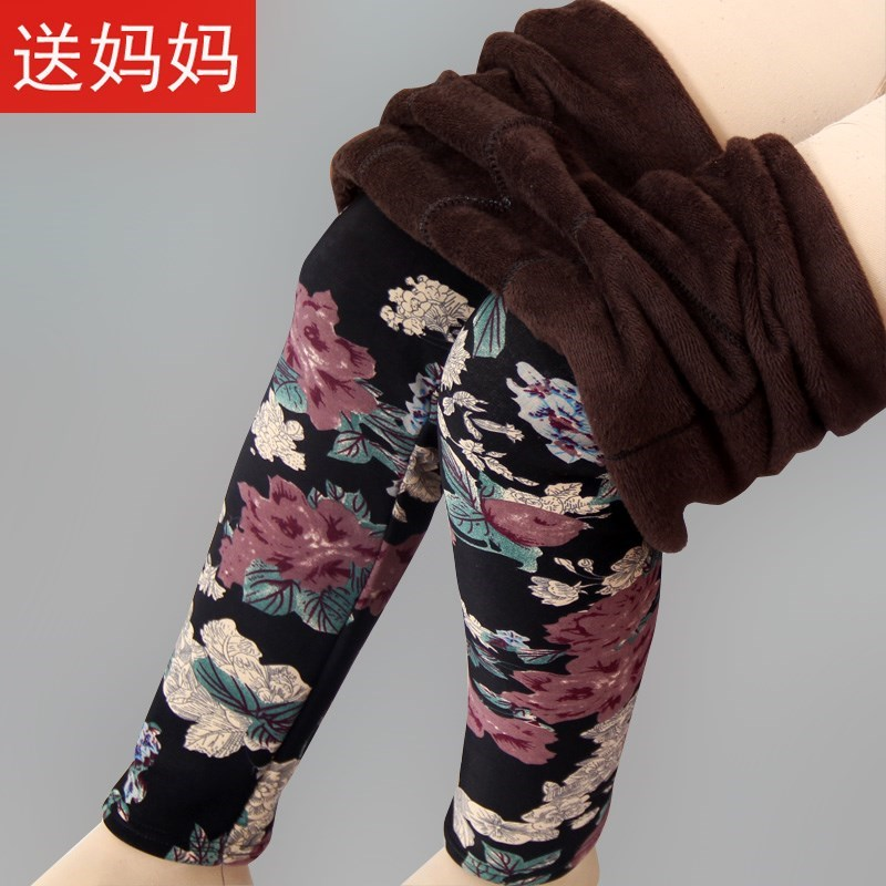 Leggings Winter 2016 XL extra large (130-160 kg) l large (115-130 kg) s / M small (85-115 kg) thickening trousers JS618 40-49 years old See description