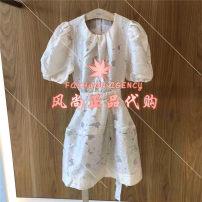 Dress Summer 2021 White, black XS,S,M Yundisu 3D2O426