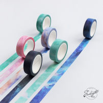 Adhesive tape / tape / tape Twilight Paper and tape Stationery tape