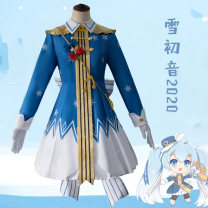 Cosplay women's wear suit goods in stock Over 8 years old Xuechuyin 2020 Animation, games L,M,S,XL,XXL The first sound of snow