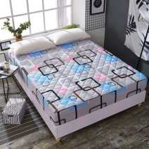 Bed cover 120cmx200cm (cotton fitted sheet), 150cmx200cm (cotton fitted sheet), 180cmx200cm (cotton fitted sheet) Plants and flowers Other / other polyester fiber Qualified products