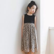 suit Other / other Leopard Print 120cm 130cm 140cm 150cm 160cm female Europe and America Leopard Print FHB-8203 Class B