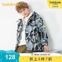 Plain coat Bala male 130cm 140cm 150cm 160cm 165cm 170cm 175cm spring and autumn leisure time Zipper shirt There are models in the real shooting routine No detachable cap other chemical fiber other Polyester 100% Class C Winter 2020
