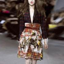Dress Autumn of 2019 Picture color S,M,L,XL,2XL,3XL