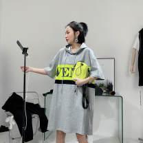 Dress Summer 2021 Black, gray, white Average size
