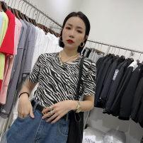 T-shirt Black, white, zebra S, M Spring 2021 other 31% (inclusive) - 50% (inclusive)