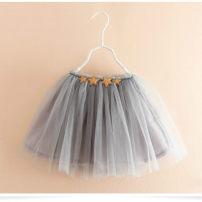 skirt 90cm,100cm,110cm,120cm,130cm,140cm Gray, black, dark blue, beige, pink Other / other female Other 100% No season leisure time Solid color
