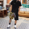 Casual pants iuuranus Youth fashion M,L,XL,2XL thin Pant Other leisure easy get shot summer teenagers tide 2019 Medium low back Sports pants Assembly No iron treatment camouflage cotton cotton More than 95%