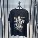 T-shirt Youth fashion Black b2dab2194 routine S,M,L,XL,2XL Peacebird Short sleeve Crew neck easy Other leisure summer B2DAB2194 youth routine tide 2021 Cartoon animation printing cotton Cartoon animation No iron treatment More than 95%