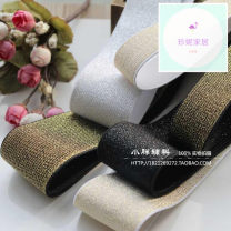 Elastic band Other Powder 1 m [width about 5 cm], gold 1 m [width about 3 cm], black 1 m [width about 3 cm], gold 1 m [width about 5 cm], black 1 m [width about 5 cm], white 1 m [width about 3 cm], white 1 m [width about 5 cm], powder 1 m [width about 3 cm]