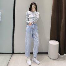 Jeans Spring 2021 Denim blue 34,36,38,40 TRAF
