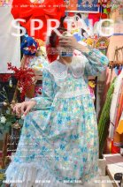 Dress Spring 2021 All cotton, in stock Average size
