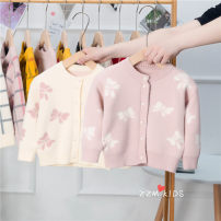 Sweater / sweater 120cm,110cm,90cm,100cm,80cm,70cm other female Cream, pink, yellow Other / other Korean version No model Single breasted routine Crew neck nothing Ordinary wool other 101-8809 Class A 18 months, 2 years old, 3 years old, 4 years old, 5 years old, 6 years old Chinese Mainland