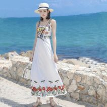 Dai Dance Costume female Other White (embroidered skirt) XS,S,M