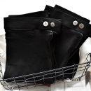 Casual pants black S M L XL XXL XXXL Autumn of 2019 Ninth pants loose  low-waisted Boutique cat magic pants Farsenna PU