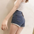 Jeans Summer 2021 Light blue, dark blue, black S,M,L,XL shorts Natural waist Pencil pants routine 25-29 years old Dark color Other / other